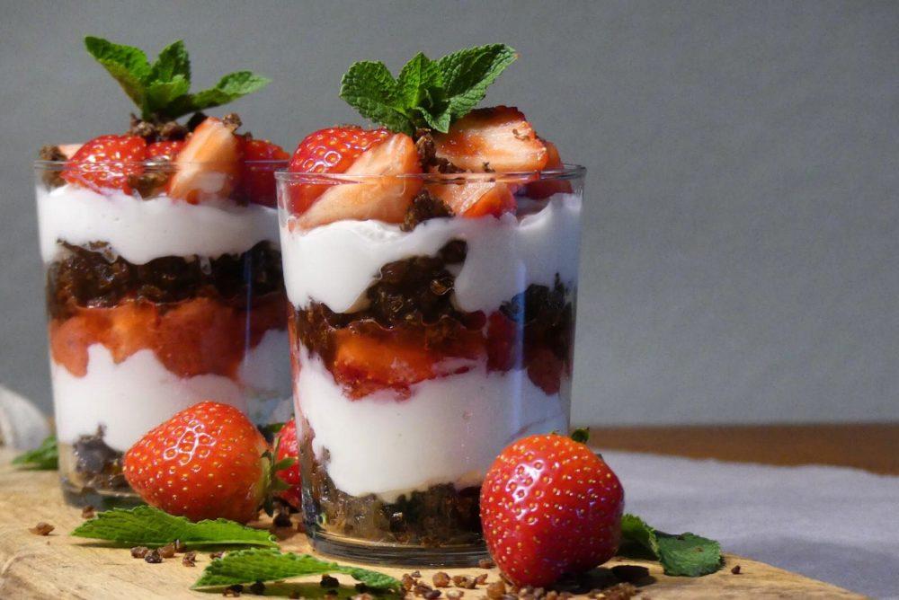 aardbei dessert recept