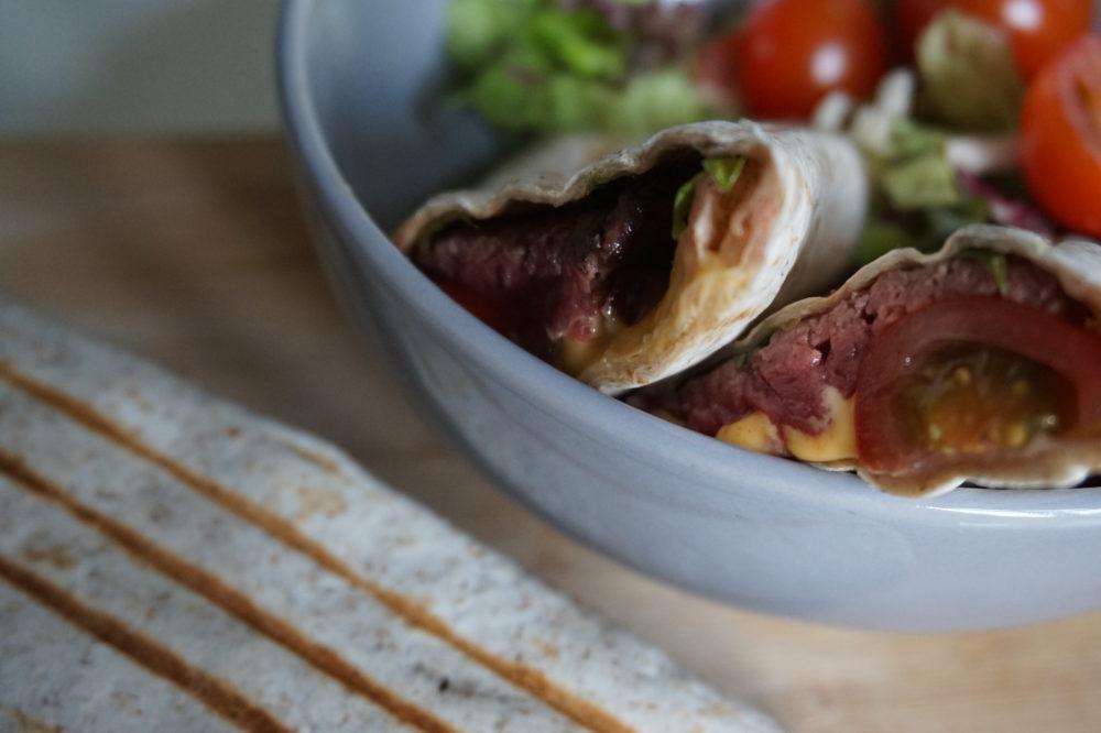 burrito met paardenbiefstuk recept