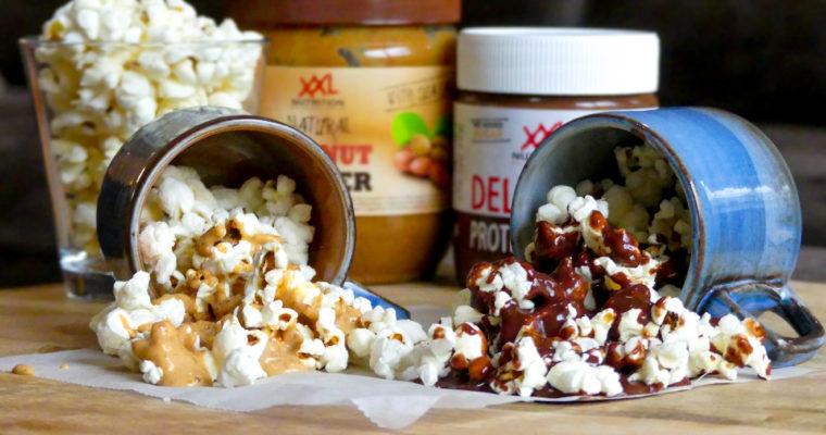 Chocolade Popcorn & Pindakaas Popcorn