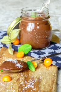 Gezonde chocolade mousse