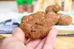 Chocolade eiwit koekjes