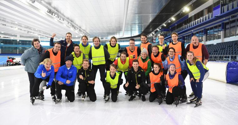 Hoe wij nét geen schaatsclinic van Sven Kramer kregen