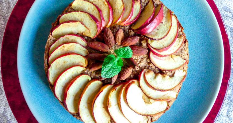 Havermout appeltaart