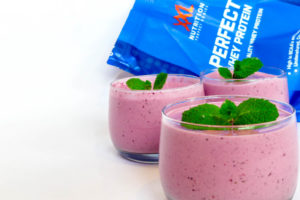 Smoothie van rood fruit
