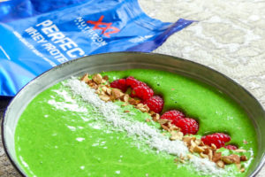 Spinazie smoothie bowl