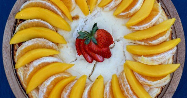 Vruchten Cheesecake