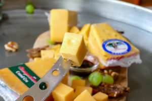 Stompetoren belegen kaas