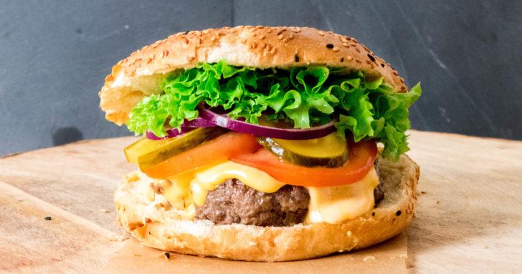 Een èchte hamburger