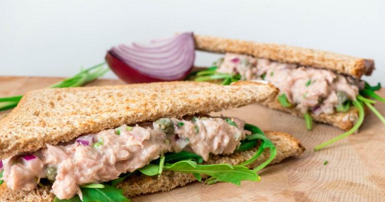 Heerlijke tonijn sandwich