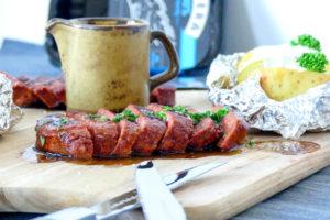 Plantaardige biefstuk