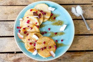 Kokosnoot pancakes