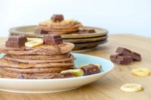 chocolade pancakes